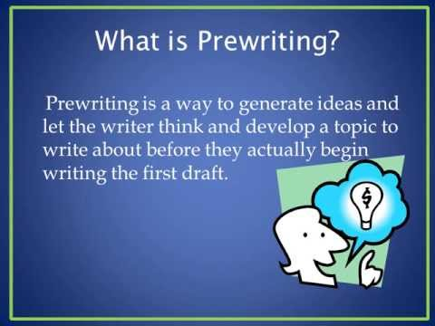 Prewriting for Process Technology