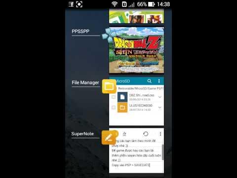 Hướng dẫn gia lập game PSP cho Android