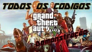GTA V Todos Dos Cheats / Códigos Do Jogo