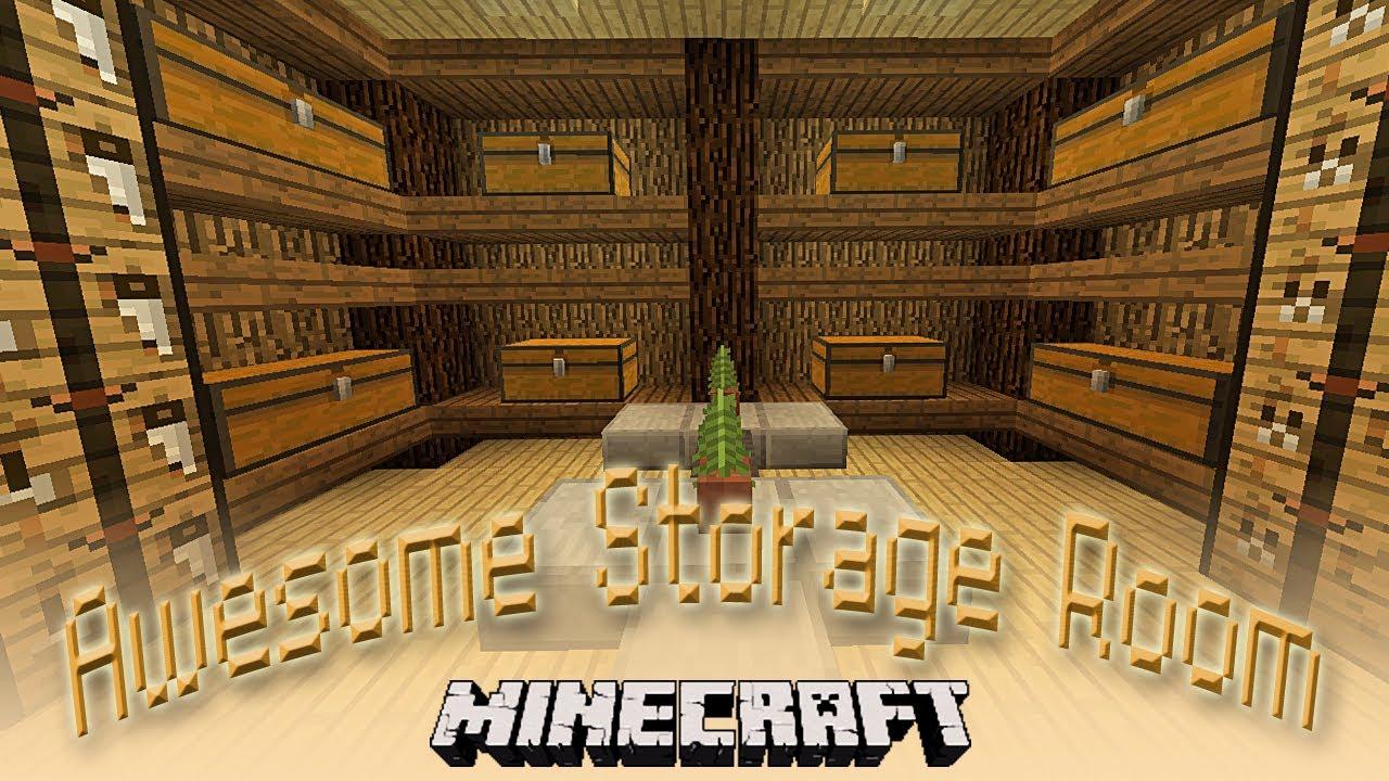 Minecraft Indiana Jones Inspired Storage And Crafting