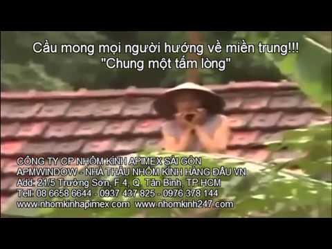 Nghẹn ngào với clip miền Trung chìm trong lũ - Apimex Sài Gòn 0937 437 825