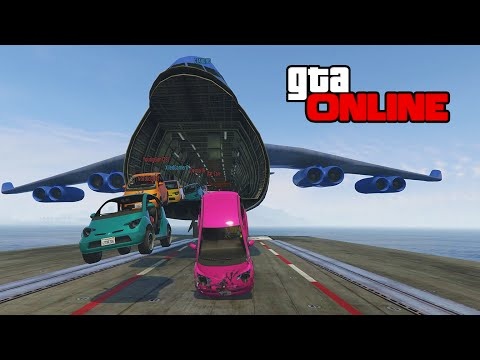 GTA 5: Online | ps4 | Aircraft Carrier & Cargo Plane FUN!