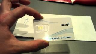 Nowa Karta Aero2 Darmowy Internet Wymiana Kart Aero2