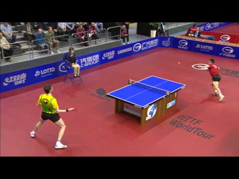 German Open 2014 Highlights: Steffen Mengel vs Wang Hao (3rd Round)