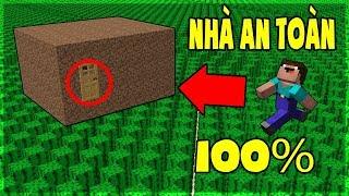 THỬ THÁCH TROLL NÂNG CẤP NHÀ NOOB THÀNH KHU BẢO VỆ CÔNG NGHỆ CAO!! (Channy Minecraft)