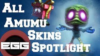All Amumu Skins Spotlight League Of Legends Skin Review