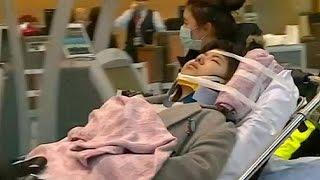 إصابة 20 راكبا بعد تعرض طائرتهم لاضطرابات شديدة خلال الرحلة التي كانت تقلهم من شنغهاي نحو تورانتو |