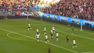 Hao123-Lionel Messi vs Manchester United HD 720p (08/08/2012)