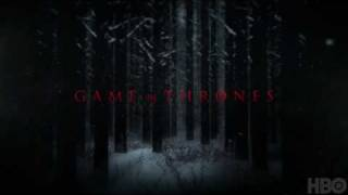 "HBO Game Of Thrones ""Winter Is Coming"" HBO Teaser Trailer"