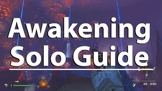 Ultimate Solo Strategy Guide: Awakening (How To Beat