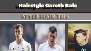 Gareth Bale HairStylePeinado Para Hombre Inspirado En