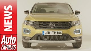 New Volkswagen T-Roc SUV revealed - your first look at VW's Mazda CX-3 rival. Auto Express.