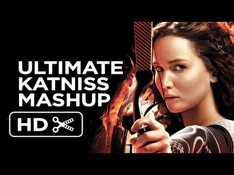 Katniss Everdeen - The Ultimate Girl on Fire Mashup (2014) - Jennifer Lawrence Movie HD