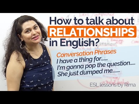 How to talk about Relationships in English? – Improve  English speaking | Free English lessons