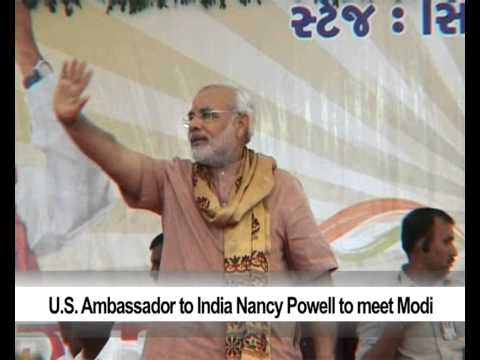 U S  Ambassador to India Nancy Powell to meet Modi
