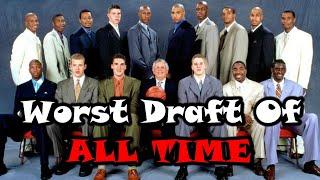 Meet The 2000 NBA Draft Class: The WORST Draft In NBA History!