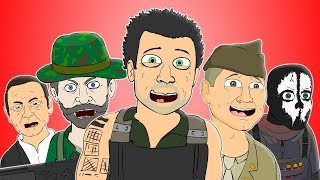 ♪ CALL OF DUTY CAMPAIGN SONGS - Animation Compilation