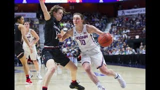 UConn Women's Basketball Highlights v. Cincinnati 03/05/2018 (AAC Tournament Semifinals)