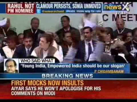 Sonia Gandhi : Decision on Rahul is final - NewsX