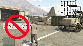 GTA 5 GET INTO MILITARY BASE WITH NO STARS (Tutorial) GTA