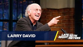 Larry David Wants to Be Jennifer Lawrence's One and Only Crush