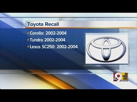 Toyota recalls 2 million vehicles