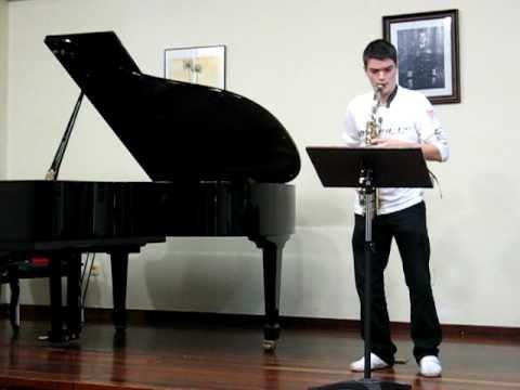 Aula Galega de Saxofón – Estudio Nº 8 de W. Ferling