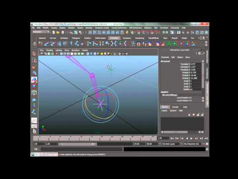 Create a switchable IK/FK character rig in Maya (4 of 12)