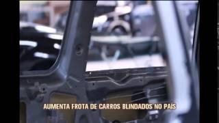 Inseguran�a aumenta n�mero de carros blindados em Belo Horizonte