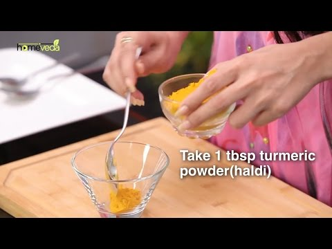 Treat Sunburn With Turmeric - Homeveda