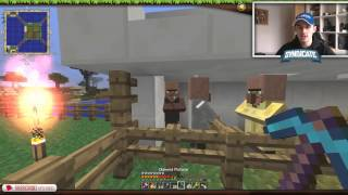 VILLAGER INVASION! - The Minecraft Project Episode #384