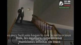 Grand Theft Auto San Andreas Municiones Infinitas