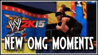 WWE 2K15 New OMG Moments! (2K14)