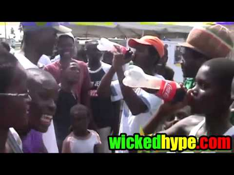 Jamaican Lady Passes Out From Coke Contest