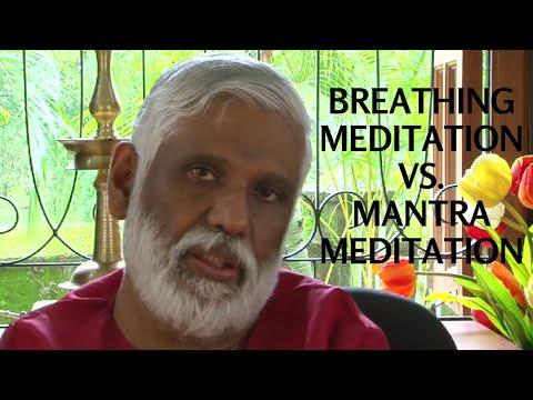 Breathing Meditation VS Mantra Meditation