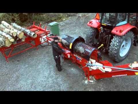 Hakki PIlke 1x42 Firewood processor