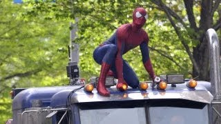 'The Amazing Spider-Man 2' Stunt Coordinators Talk Sequel