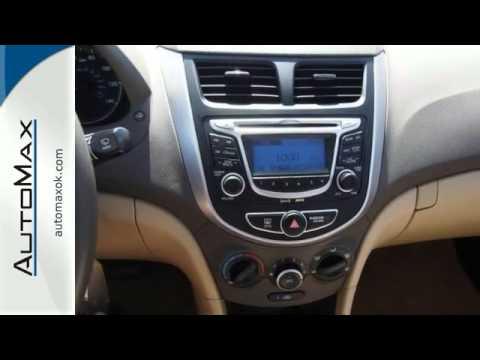 2012 Hyundai Accent Oklahoma City OK Edmond, OK #M3982