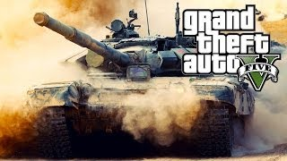 GTA 5 ONLINE: HOW TO STEAL A TANK! GET A TANK FOR FREE