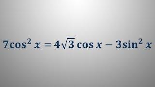 Trigonometrične enačbe 20