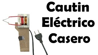 Cautin eléctrico casero