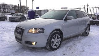 2007 Audi A3 1.6L. Start Up, Engine, and In Depth Tour.. MegaRetr