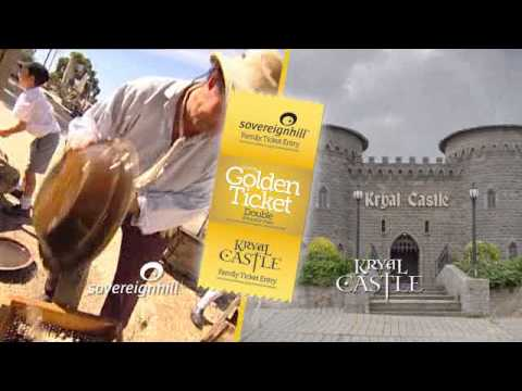 Ballarat Golden Ticket - Double Pass to Kryal Castle and Sovereign Hill