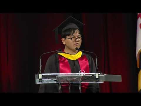 其实,马里兰大学还有另一场毕业演讲(图/视频)
