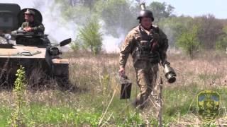 Військова підготовка 93 ОМБр. Відпрацювання навичок боротьби з повітряним противником