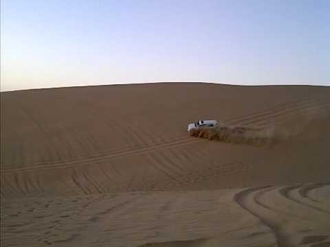 Toyota Land Cruise in the Dunes of Abu Dhabi
