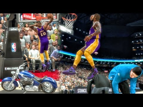 JUMPING OVER EVERYTHING IN DUNK CONTEST! NBA 2K17 My Career Gameplay Ep. 50