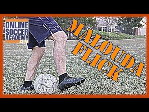 Freestyle Soccer - How to do a Malouda Flick,