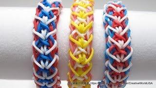 自由扭轉手鐲 Liberty Twist Bracelet 彩虹編織