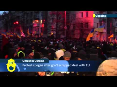 Unrest in Ukraine: Ukraine's opposition demands that president resign